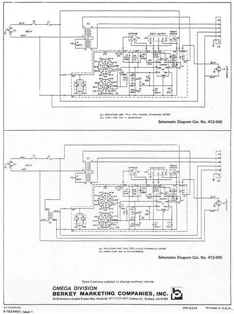 omega timer wiring diagrams wiring diagram with description