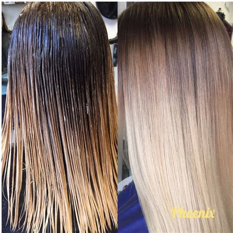 blonde bob root stretch colour melt shadow root root stretch hair colour hair