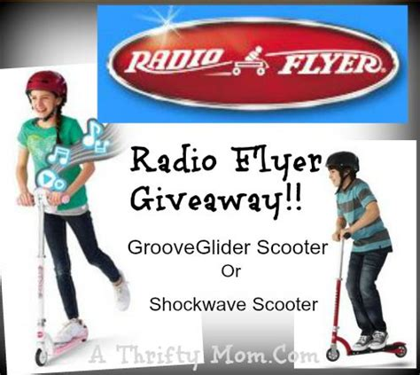 Radio Giveaways - product review radio flyer groove glider