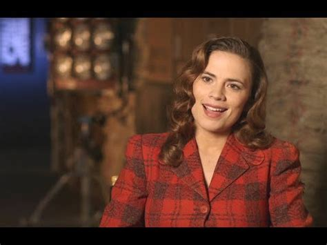 marvel shot agent carter hayley atwell interview