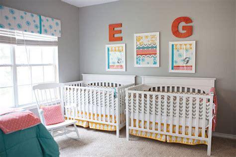 chambre bebe jumeaux d 233 co de chambre pour jumeaux