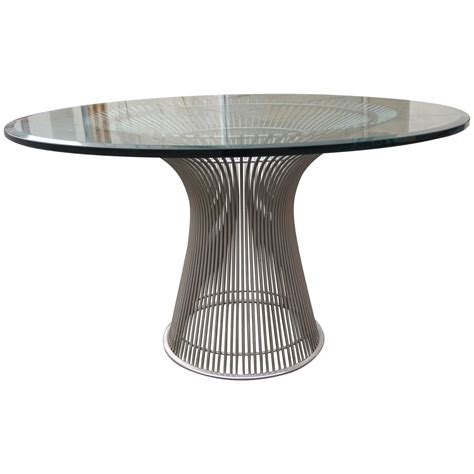 platner dining table dining table by warren platner at 1stdibs