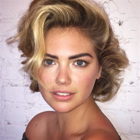 kate uptons hair colour kate upton shares her beauty rules