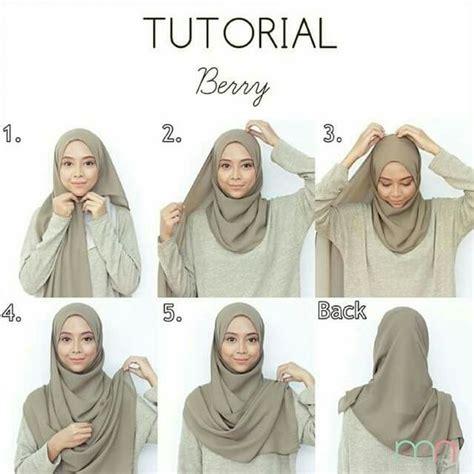 hijab pashmina chic fashion  moderne tutorial simple