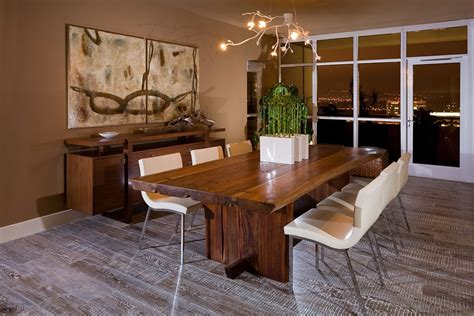 wall tables for living room rustic pub tables with blackcomb base tree slab wood