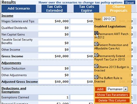 calculator new tax plan new tax calculator shows taxpayers their tax bill under