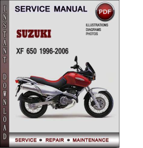 service manual pdf 1996 suzuki esteem body repair manual suzuki xf 650 1996 2006 factory service repair manual download pdf