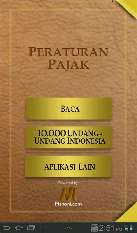 Undang Undang Perpajakan 1 undang undang perpajakan android apps on play