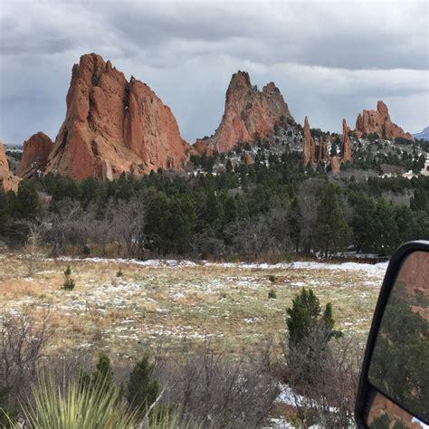 Garden Of The Gods Weather Garden Of The Gods Colorado Springs Colorado The