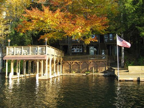lake george house rentals adirondack getaway right on lake hadlock homeaway lake hadlock