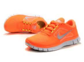 Light Pink Nikes 2012 Nike Free Run 3 Womens Shoes Orange