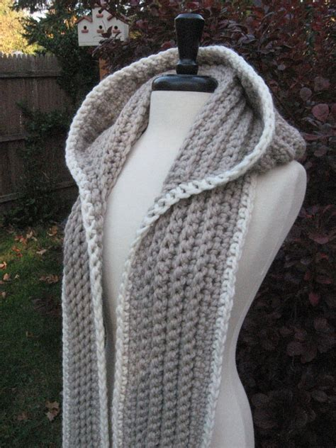 knitting pattern nordic scarf nordic hooded scarf by nutsaboutknitting