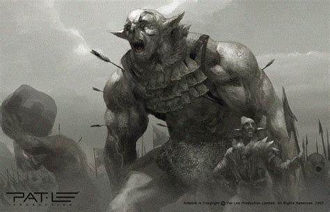 epic film creature battle beast orc raid by patleeart on deviantart