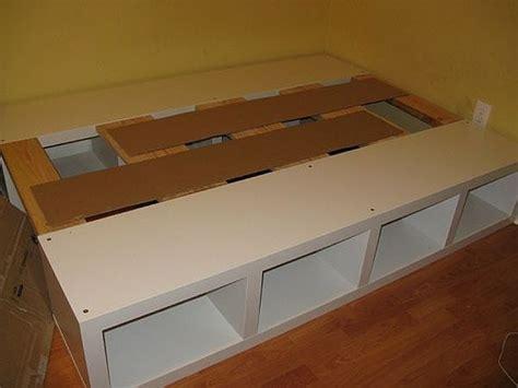 build  fulldouble platform bed  storage hunker