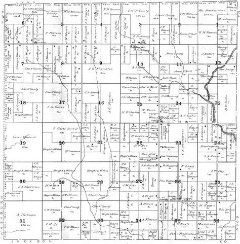 plat maps clark county wisconsin maps gazetteers