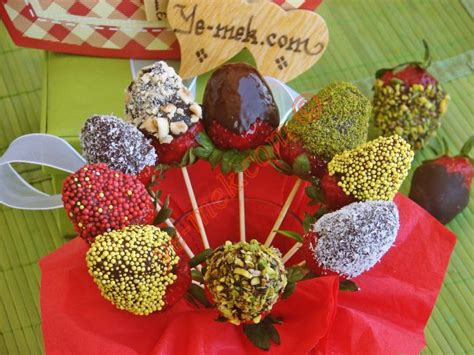 ilek buketi resmi kolay ve resimli nefis yemek tarifleri strawberry chocolate bouquet recipe recipes from