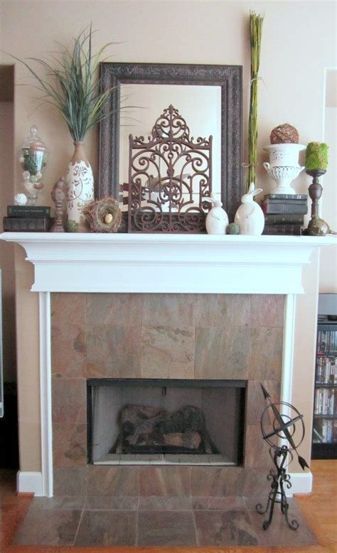 Everyday Fireplace Mantel Decorating Ideas Best 25 Summer Mantle Decor Ideas On Pinterest