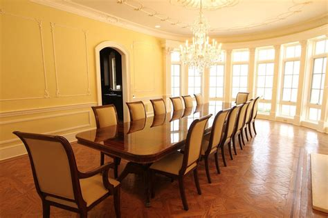extra large dining room tables extra large 16 foot triple pedestal mahogany dining table