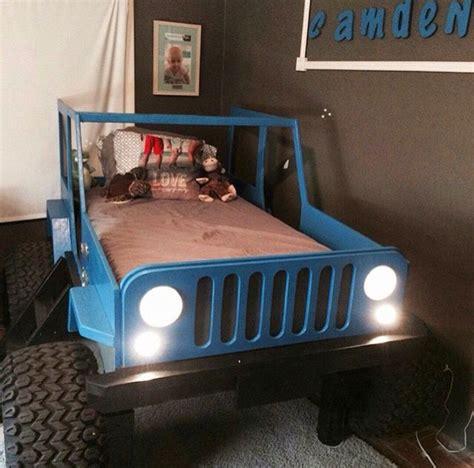 ideas  kids jeep  pinterest car bed kid