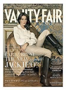 Vanity Fair Uk Media Kit Carla Bruni On Cover Of Vanity Fair