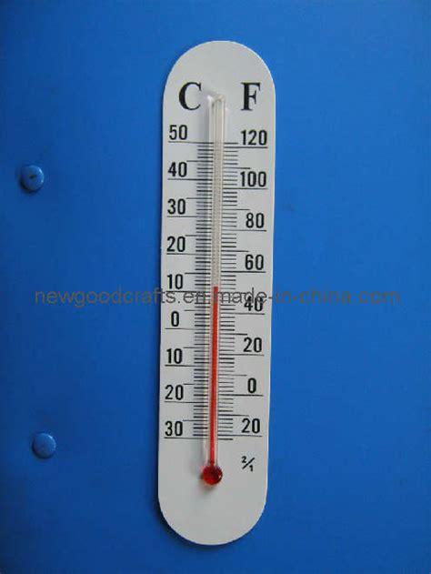 china thermometer  glue paper card sticker china