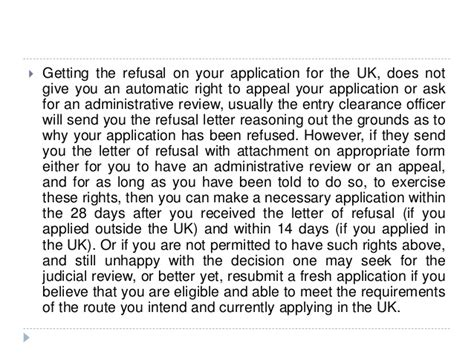 Sle Appeal Letter Visa Refusal Uk uk appeal review reconsideration request of refused