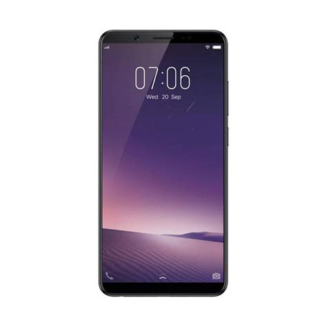 Vivo V7 Ram 4gb 32gb Garansi Resmi Vivo Indonesia jual vivo v7 smartphone black 32 4gb harga kualitas terjamin blibli