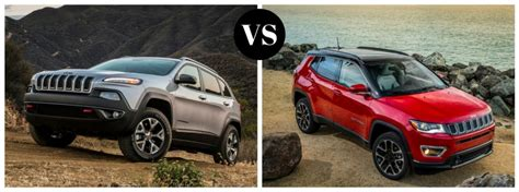 Jeep Compass Vs Jeep 2017 Jeep Vs 2017 Jeep Compass