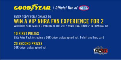 Goodyear Sweepstakes - goodyear winning record sweepstakes sun sweeps