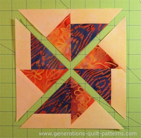 Generation Quilt Patterns by Flying Kite Quilt Block The Free Paper Piecing