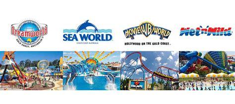 themes parks gold coast gold coast theme park transfers book now experience oz
