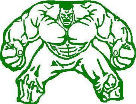 Incredible Hulk Wall Stickers comic decals and cartoon decals hulk decal sticker