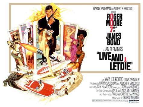 film james bond live and let die live and let die poster 04