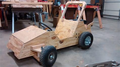 how to build a motor go kart wood go kart winter build status go kart guru vlog