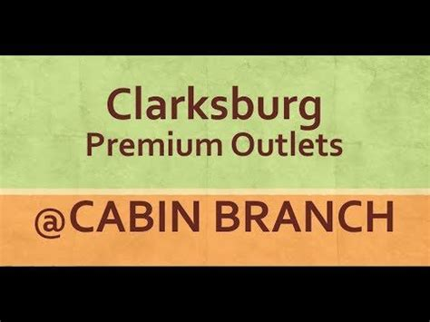 Cabin Branch Outlets by Clarksburg Premium Outlets At Cabin Branch In Maryland