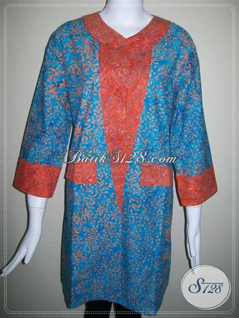desain baju wanita keren baju batik wanita desain terkini dengan motif dan