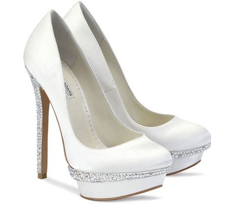 Wedding High Heels For Brides by High Heel Wedding Shoes For Bridesmaids Wardrobelooks