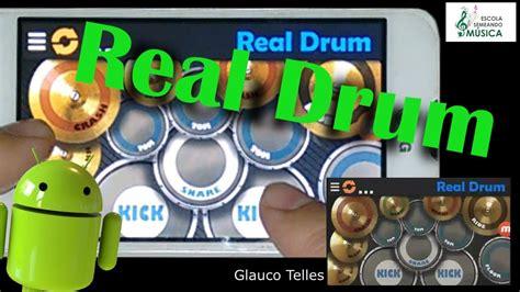 tutorial real drum real drum como tocar bateria virtual celular aula f 225 cil