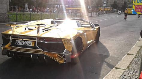 Goldener Lamborghini by Goldener Lamborghini Youtube