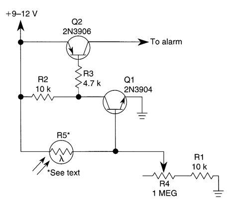 photoelectric sensor circuit diagram photoelectric sensor sensor circuit circuit diagram