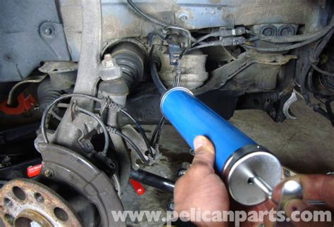 Mercedes Benz W211 Front Differential Oil Change 2003