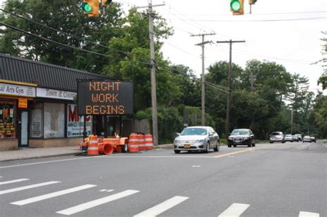 town of hempstead section 8 plandome road repaving hits heights the island now