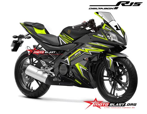 Striping Suzuki Lets Hijau modifikasi yamaha r15 black thunder