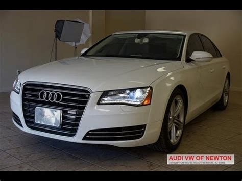 Audi A8 Supercharged by 2013 Audi A8 3 0t Supercharged Sport White