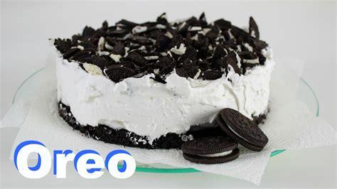kuchen baken oreo torte ohne backen veganes rezept