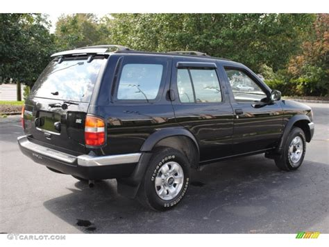 pathfinder nissan 1997 black 1997 nissan pathfinder se 4x4 exterior photo