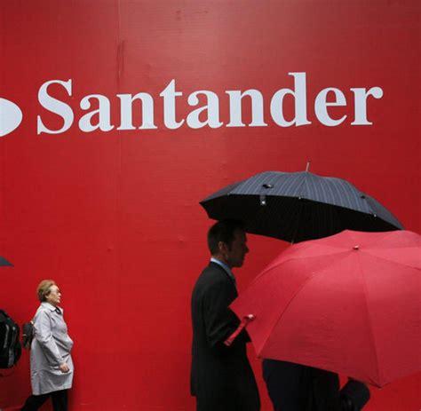 santander bank spanien spanien gro 223 bank santander trotzt der krise noch welt