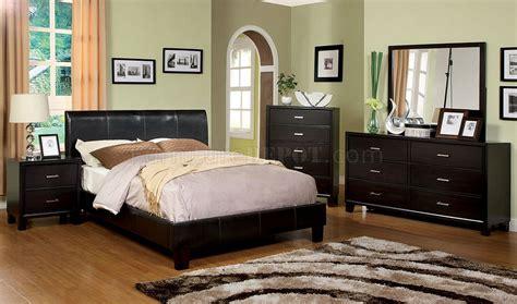 cm villa park bedroom pc set wleatherette bed options