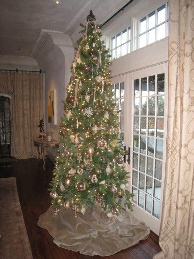 holiday decor with slim christmas tree holidays pinterest