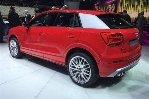 Audi Q2 News by Audi Q2 In Pictures New Suv Lands At Geneva Show By Car